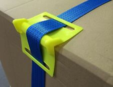 25x Plastic Corner Protectors for Ratchet Straps HEAVY DUTY van trailer lashing