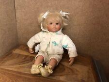 Gabriele Müller Porzellan Puppe 23 cm. Top Zustand