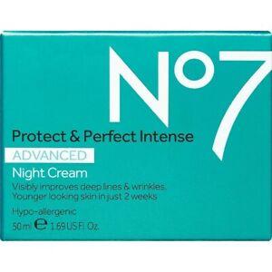 No7 Protect & Perfect Intense Advanced Night Cream. 1.69 US Fl oz