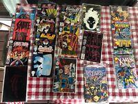 Comic Book Set, 19 Different Copies, DeadPool, DC & Marvel