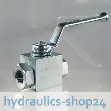 2/2 Wege Hydraulik Kugelhahn Hochdruck, 315 bar, G3/4 Innengewinde / DN20 PN 315
