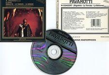 """Luciano PAVAROTTI """"In concert (Rgoletto,...) (CD)"""