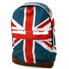 New British UK England Flag Union Jack Boys Girls School Book Backpack