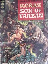 Korak - Son of Tarazan Figlio di Tarzan Gennaio 1963 - ed. Gold Key