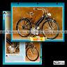 #139.03 Fiche Moto Cyclo Moped CUCCIOLO T 50 (T50) 1946-1958 Motorcycle Card