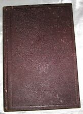 Actaea A First Lesson In Natural History by Mrs. Agassiz 1859 2nd Edition ILLUS
