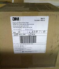 3M Edging & Reinforcing Tape, 8411 Transparent, 3/4 in x 72 yd, 1.5 mil, 48/case