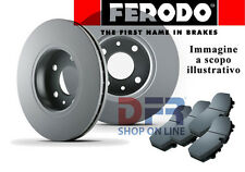 KITFDP9 KIT DISCHI FRENO + PASTIGLIE FERODO FIAT PUNTO 1.2 16V II e III serie +