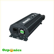 2 x 600W NANOLUX DUAL DIGITAL BALLAST FOR HYDROPONICS MH HPS GROW LIGHT