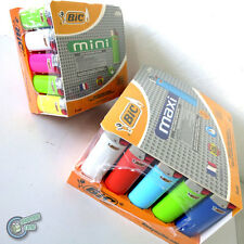 100 BIC Lighter (50 Large Big Maxi J26 + 50 Small Mini J25) Cigarette Tobacco