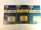3 Vintage 1957, 1958 & 1959  NARDA  TV and Appliance Trade-in Blue Books photo