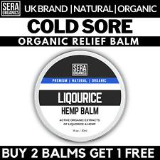 Cold Sore Cream Hemp Liquorice Balm Lip Treatment Balm Natural Ingredients