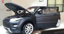 Land Range Rover Evoque Nero opaco satinato Welly 1 24 Scala Diecast