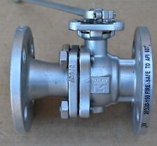 HAITIMA 2020D150 Firesafe to API 607 ANSI 150 1 inch flanged ball valve