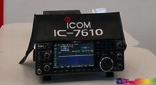 ICOM IC-7610 HAM RADIO DUST COVER  ICOM LOGO APPROVAL DXCOVERS