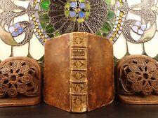 1700 1ed French Beza Huguenot New Testament BIBLE + Marot Psalms of David MUSIC