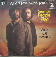 """THE ALAN PARSONS PROJECT - GAMES PEOPLE PLAY / THE ACE OF SWORDS - 7""""  - 45 RPM"""