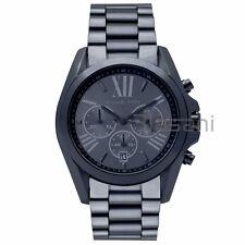 Michael Kors Original MK6248 Men's Bradshaw Navy Stainless Ste Chrono Watch 43mm