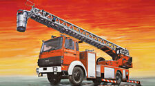 Fire Ladder Truck Iveco Magirus Plastic Kit 1:24 Model ITALERI
