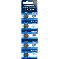 Panasonic CR1620 pile bouton au lithium 3V lot de 20 piles