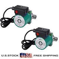 Pack of 2 Hot Water Circulator/Circulation Pump,NPT 3/4'',110V,Stainless Steel