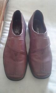 HOTTER COMFORT CONCEPT AMBER SHOES IN BROWN  UK 51/2