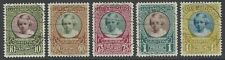 LUXEMBOURG 1928 Child Welfare Charity set of 5 VF used Mi#208-212 cat £70