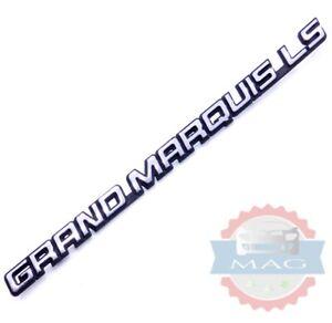 95 96 97 Mercury Grand Marquis LS Rear Trunk Script Emblem Nameplate Badge OEM