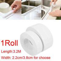 3.2M Bath Wall Sealing Strip Self-Adhesive Kitchen Caulk Repair Tape Bathroom #C