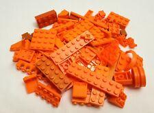 Mega Bloks and Compatible Brands Orange Bricks Plates Building Pieces