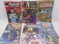 6 Piece Lot Marvel Comic Books Thor Daredevil The Punisher The A Team Ghost Ridr