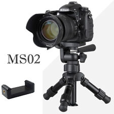 Lightweight Camera Compact Aluminum Desktop Mini Tripod for phone with Pan Head