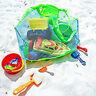 Extra Large Sand-away Carrying Bag Beach Toys Kids Swimming Pool Mesh Tote Bags