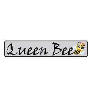 Green Aluminum Weatherproof Road Street Signs Queen Bee Home Decor Wall