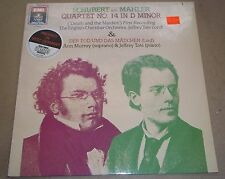 Jeffrey Tate SCHUBERT-MAHLER Death and the Maiden - Angel DS-38313 SEALED
