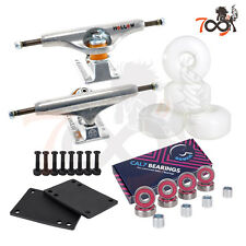 Independent 149 Forge Hollow Skateboard Trucks Combo Bearing 52mm White Wheels