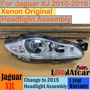 2010-2015 Jaguar XJ XJL Xenon Headlight Assembly Without Orange Light RH