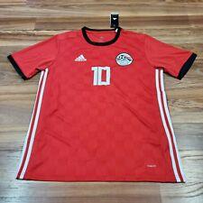 ADIDAS Mohamed Salah #10 Egypt LARGE Team Jersey 2018