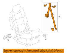 GM OEM Rear Seat Belt-Outer Assy Left 19303060