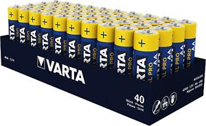 100 x Varta Industrial 4006 AA LR06 MN1500 Mignon 1,5 V  R6 AM3 E91 2600 mAh