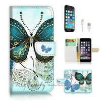 ( For iPhone 6 Plus / iPhone 6S Plus ) Case Cover P2591 Butterfly
