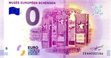 BELGIQUE Luxembourg, Musée Schengen, N° de la 6ème, 2018, Billet 0 € Souvenir