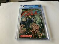 WAR IS HELL 15 CGC 9.8 WHITE PAGES LAST ISSUE DEATH MARVEL COMICS 1975