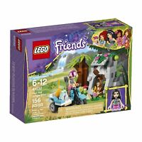 Lego Friends 41032 FIRST AID JUNGLE BIKE cave palm Emma monkey