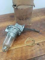 1955 1956 1957 Ford fuel pump v8 new glass bowl #4487 usa made