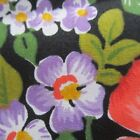 50 CM X 116 CM VINTAGE Cotton Fabric 1980s Yellow Pink Allover Floral