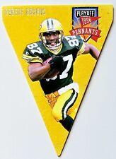 Robert Brooks 1996 Playoff Pennants Green Bay Packers Football Card #52 RED