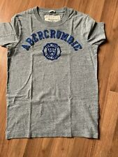 Men's T-shirt By Abercrombie & Fitch, Size S, Gray And Blue