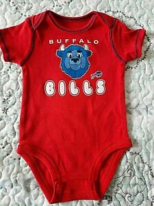 Licensed Buffalo Billls Baby Bodysuit One Piece NFL New Pick Your Size
