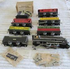 American Flyer Pennsylvania Streamline 7 Car Train Set Transformer&Original Box